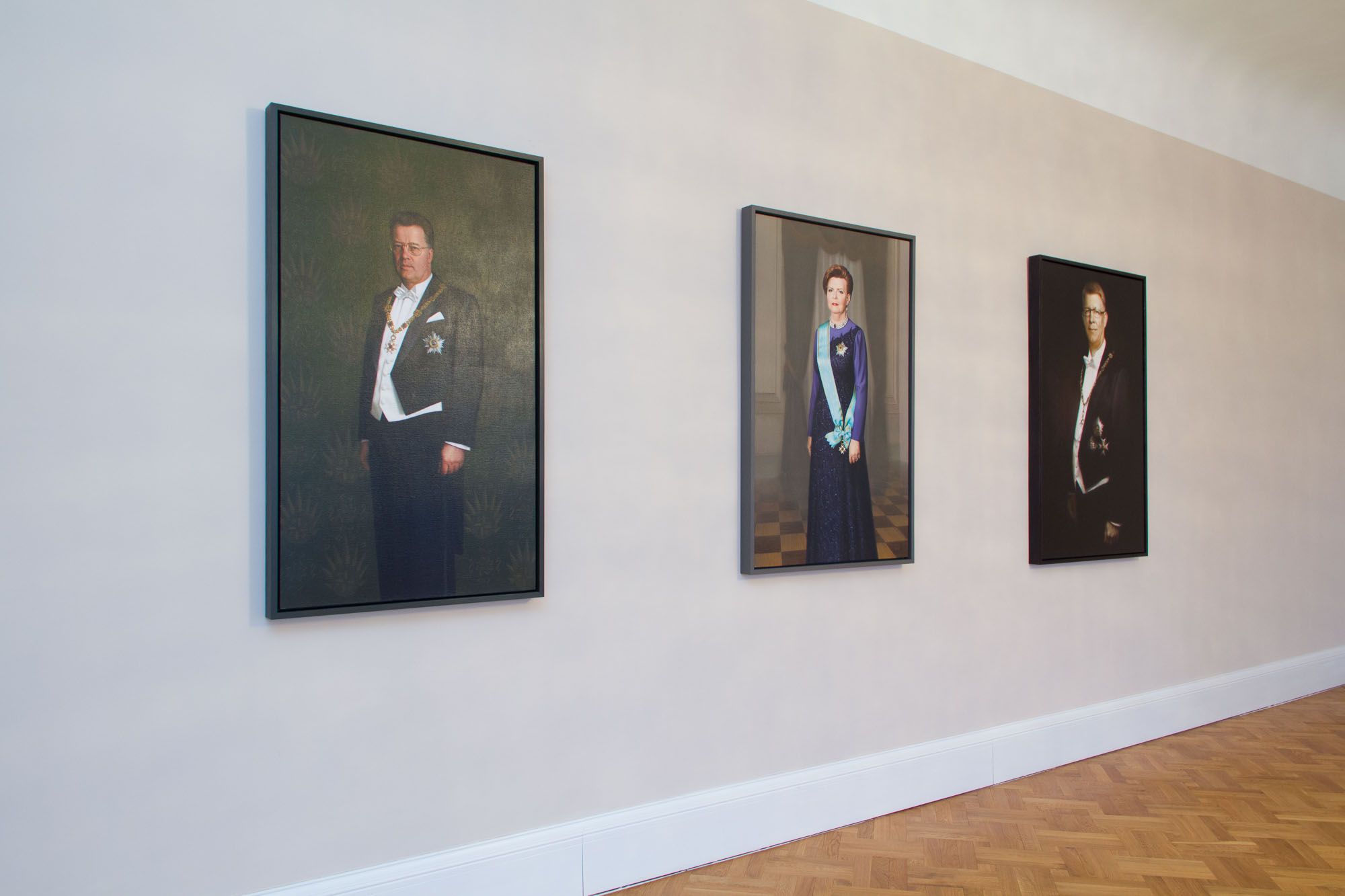 Framings for residence of the President of Latvia